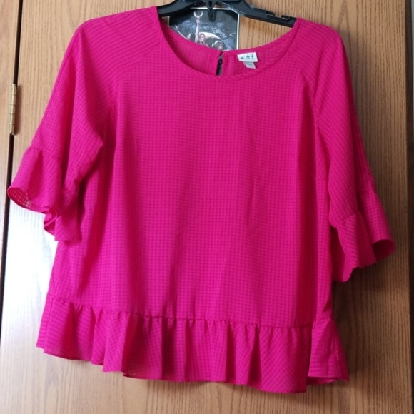 And Tops - Cute Pink Top